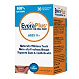 Evora Plus Probiotics For Oral Care Naturally Whitens Teeth Freshens Breath(Pack Of 2)