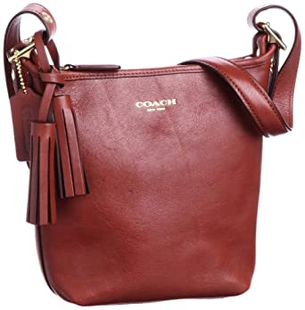 Coach Legacy Duffle Shoulder Bag Cognac 31