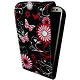 MOBILEEXTRALTD® Samsung Galaxy S3 III I9300 New Stylish New Butterfly Printed PU Leather Magnetic Protection Case Cover + 2X Screen Guard