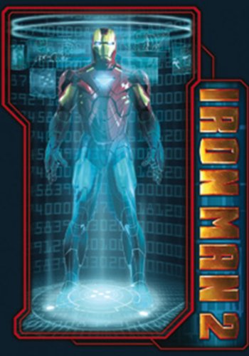 Licenses Products Iron Man 2 Iron Man Scanner Sticker - 1