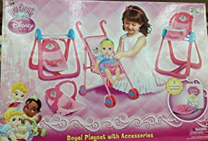 My First Disney Princess Royal Playset w/Accessories