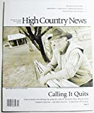 img - for High Country News, Volume 37 Number 6, April 4, 2005 book / textbook / text book