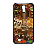 Hippies the Beatles Love Peace Inspired SamSung Galaxy S4 I9500 Nice Durable Hard Phone Accessories Case Cover Amazon.com