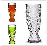 Dragonpad New Sharks Cup Handmade Glass Beer Mug Glassware