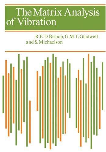 The Matrix Analysis of Vibration