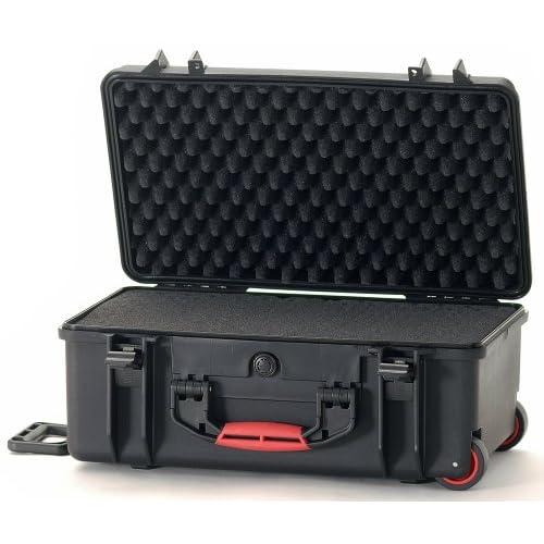 軽量設計★2550WF Wheeled Hard Case with Foam ハードケース HPRC社 Black【並行輸入】