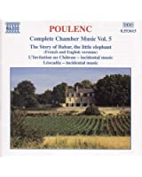 Poulenc: Complete Chamber Music Vol. 5