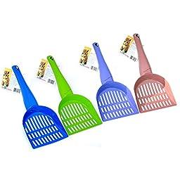 Duranimals® Durascoop® Mini Steel Cat Litter Scoop (colors vary)