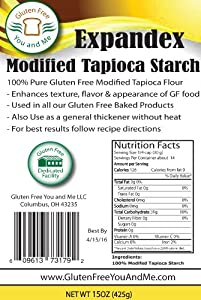 Expandex Modified Tapioca Starch Gluten Free(15oz))