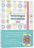 Mon petit agenda Coloriages mandalas 2016