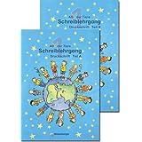 ABC der Tiere 1. Druckschrift. Neubearbeitung: 1. Schuljahr Schreiblehrgang. Teil A und B