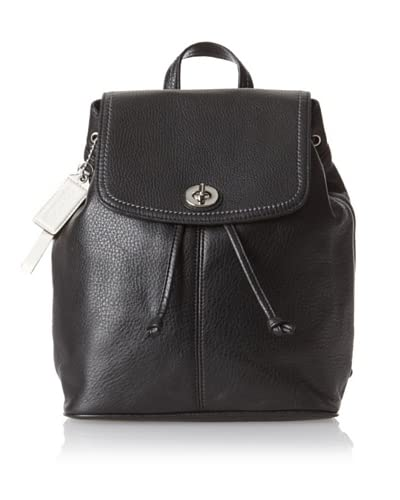 Coach Women's Park Signature Backpack, Black As You See
