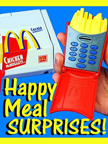 McDonalds Happy Meal Toys Surprise French Fries, Burgers & Chicken Nuggets into Toys