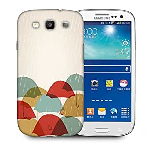 Snoogg Abstract Rainy Season Background Designer Protective Back Case Cover For Samsung Galaxy S3