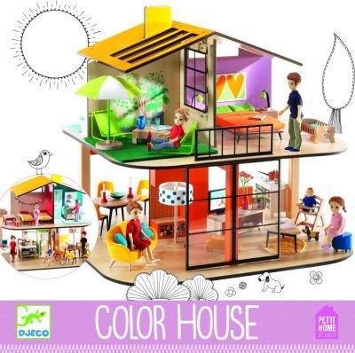 maison de poup e djeco 3070900078031 jeux jouets maisons alertemoi. Black Bedroom Furniture Sets. Home Design Ideas