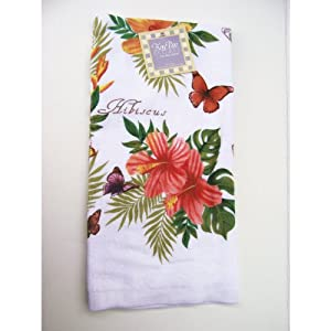 Kay dee designs tropical flower kitchen towel Kay dee designs kitchen towels