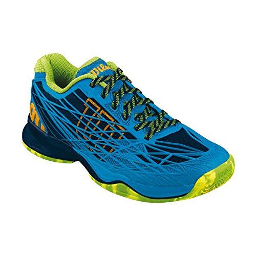Wilson Kaos Clay Court men blue/grangreen WRS321480, taglia:48