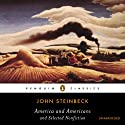 America and Americans and Selected Nonfiction Audiobook by John Steinbeck Narrated by Henry Strozier