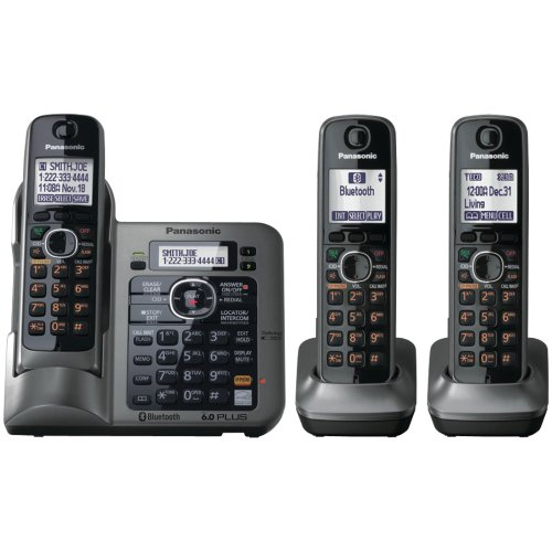 Panasonic KX-TG7643M dect 6.0 Link-to-Cell Bluetooth