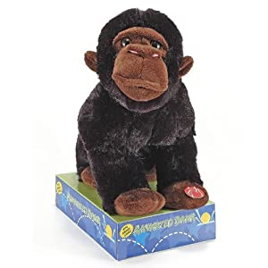 Animated Plush Gorilla piggy Bank with Sound