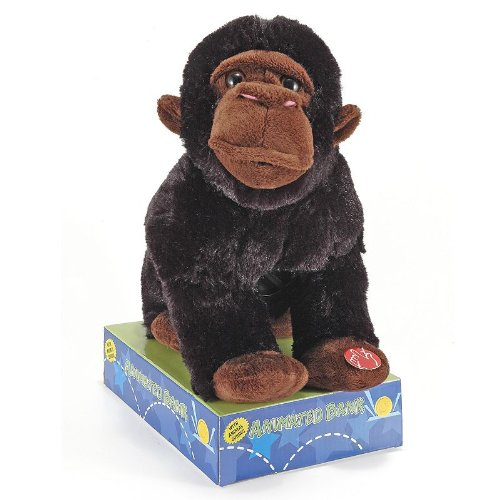 Animated Plush Gorilla piggy Bank with Sound - 1