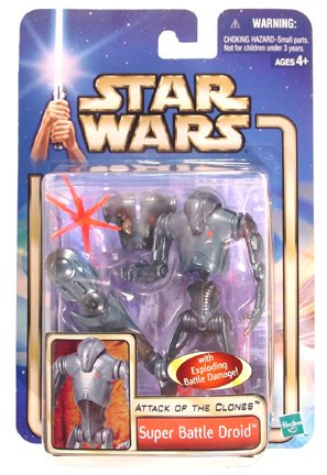 Star Wars: Episode 2 Super Battle Droid Action Figure