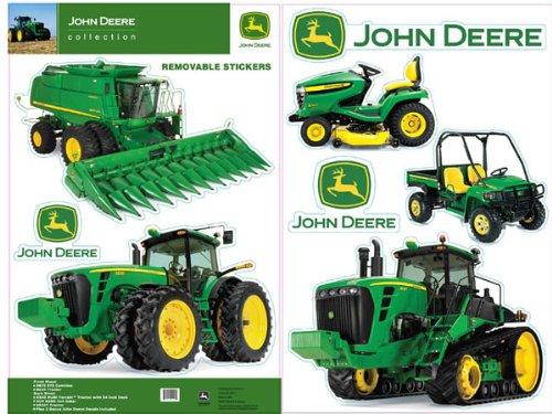 john deere wall decals john deere wall stickers 16 decals farm tractors room