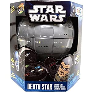 Star Wars MIGHTY BEANZ DEATH STAR Collector Case w/ 2 EXCLUSIVE BEANZ by Spin Master