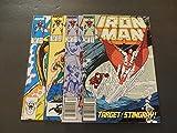 4 Iss Iron Man #223-226 Oct 1987 - Jan 1988 Copper Age Marvel Comics