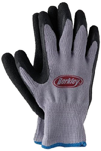 berkley coated fishing gloves blue grey outdoor store