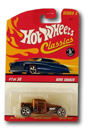 HOT WHEELS 2006 7 of 30 orange BAD BAGGER CLASSICS SERIES 3 1:64 SCALE DIE-CAST BODY/CHASSIS SPECIAL PAINT - 1