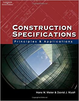 construction specifications writing principles and procedures pdf
