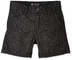 Rig Kids Boys' Shorts (SHORTS 04A_Navy_9 - 10 years)