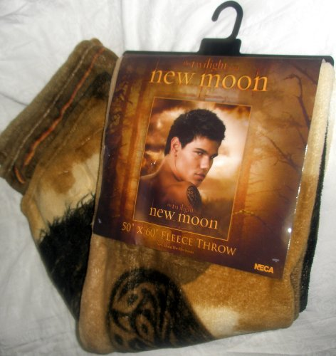 Fleece Throw Blanket, Licensed Movie Memorabilia, Twilight Saga New Moon,