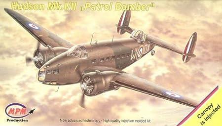 MPM 72518 Lockheed Hudson I/II 1:72 Plastic Kit Maquette