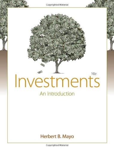 Investments: An Introduction (with Thomson ONE - Business...