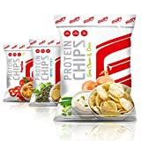 GOT7 Nutrition High Protein Chips, Sour Cream & Onion 6x50g