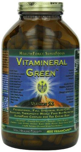 Healthforce, Vitamineral Green, Vegancaps, 400-Count
