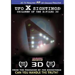 UFO X Sightings:Children of the X Files  3D SBS