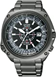 CITIZEN (シチズン) 腕時計 PROMASTER プロマスター Eco-Drive エコ・ドライブ 電波時計 24時間針付 限定モデル PMD56-2973 メンズ