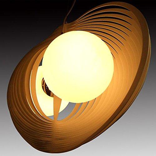 Fei & S lunga durata e vintage moderno lampadario in vetro, paralume lampadario, con miglior servizio 6 black