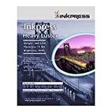 Inkpress HL4650 Heavy Luster 300 GSM 12 Mil 94% Bright Single Sided 4x6in 5 ....
