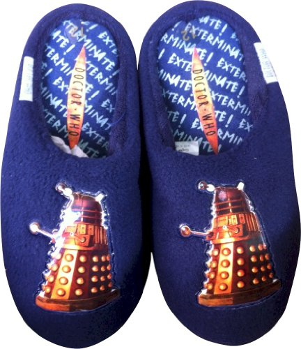 Doctor Who Dr WHo Dalek Slippers Kids SIze 9