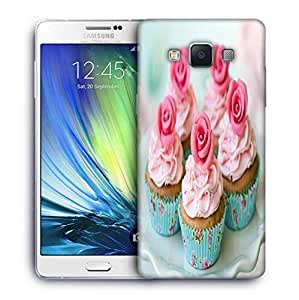 Snoogg Cake With Roses Designer Protective Phone Back Case Cover For Samsung Galaxy A7