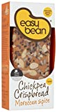 Easy Bean Chickpea Crispbread Moroccan Spice 110 g (Pack of 4)
