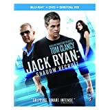 Jack Ryan: Shadow Recruit (Blu-ray + DVD + Digital HD) ~ Chris Pine