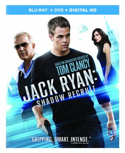 51M00zc4VKL Jack Ryan: Shadow Recruit (Blu ray + DVD + Digital HD)