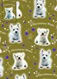 """Westie Dog Christmas Wrapping Paper """"A Christmas Wish"""""""