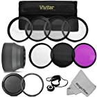 Professional Accessory Kit for CANON PowerShot SX50 HS - Includes: Vivitar Filter Kit (UV