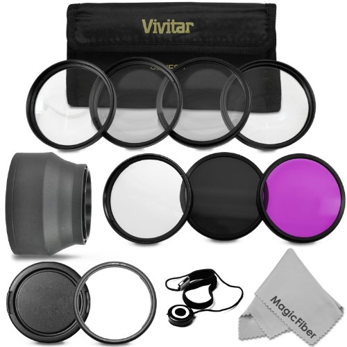 Accessory Kit for CANON PowerShot SX50 HS - Includes: Vivitar Filter